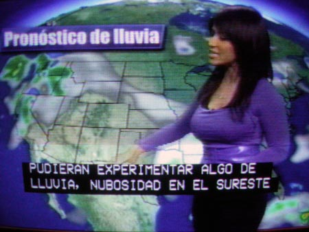 Spanish weather girl dating a youtuber