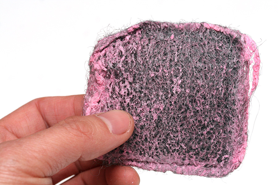 how to get resin out of brillo
