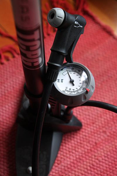 Serfas Big Stick Bike Pump Silver Bs 1d Mountain Amain