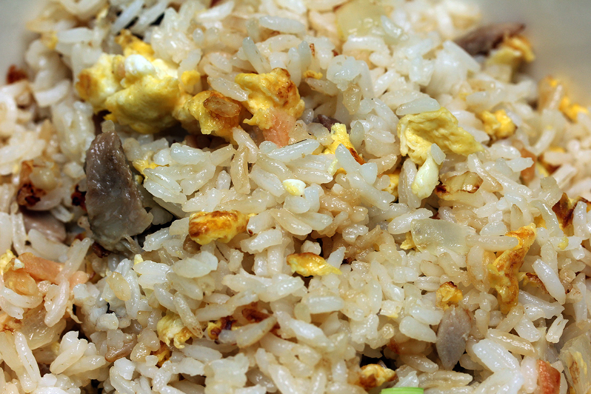 for Fish fried rice